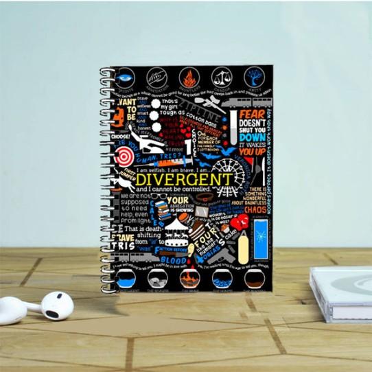 divergent notebook